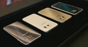 Samsung Galaxy S6 Edge Color Variants