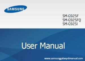 samsung galaxy s6 edge manual