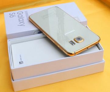 gold samsung galaxy s6