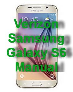 Verizon Samsung Galaxy S6 Manual