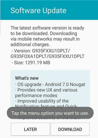 Android 7.0 Nougat Download