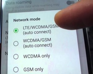 No LTE on Samsung Galaxy S7