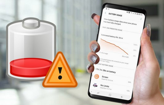 How to Fix Samsung Galaxy S9 Battery Drain