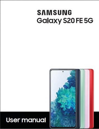 Samsung Galaxy S20 FE User Manual