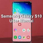 Samsung Galaxy S10 Manual / User Guide PDF Download