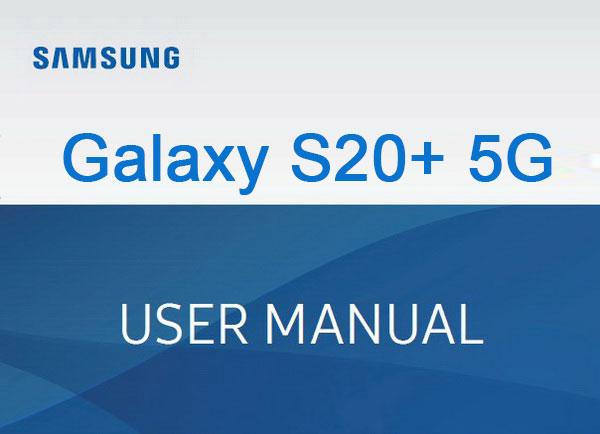 samsung galaxy s20+ 5g manual